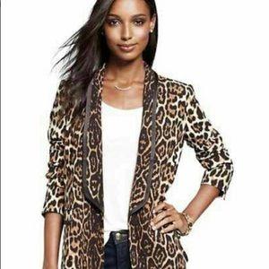 Juic Couture Leopard Blazer Women's Size XL